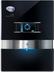 HUL Pureit Ultima Mineral RO + UV + MF 7 Stage Table top Wall mountable Black 10 litres Water Purifier