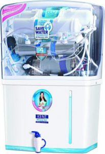 KENT Grand 8-Litres Wall-Mountable RO + UV UF + TDS Controller