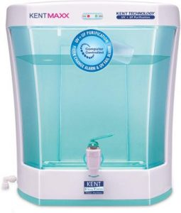 KENT Maxx 7-Litres Wall Mountable Table Top UV + UF 60-Ltr hr Water Purifier with detachable storage tank