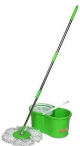 Wotra Plastic 360 Degree Quick and Spin Easy Magic Cleaning Mop