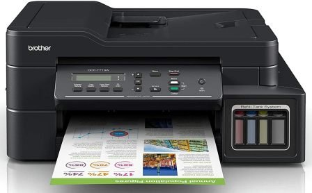 Brother DCP-T710W with Wireless Inktank Printer
