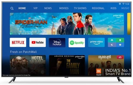 Mi TV 4X 163.9 cm (65 Inches) 4K Ultra HD Android LED TV