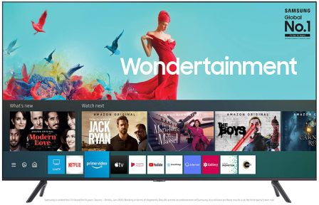 Samsung 138 cm (55 Inches) Wondertainment Series Ultra HD LED Smart TV