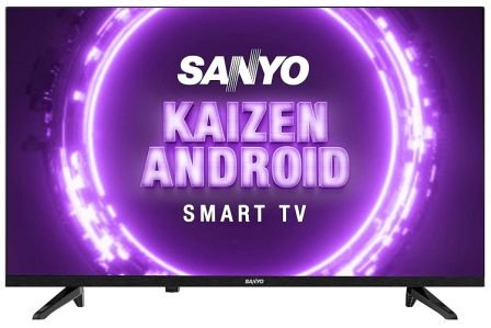 Sanyo 80 cm (32 inches) Kaizen Series HD Ready Smart Certified Android IPS LED TV