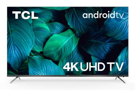 TCL 138.7 cm (55 inches) AI 4K Ultra HD Smart Certified Android LED TV