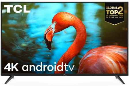 TCL 163.96 cm (65 inches) AI 4K UHD Certified Android Smart LED TV