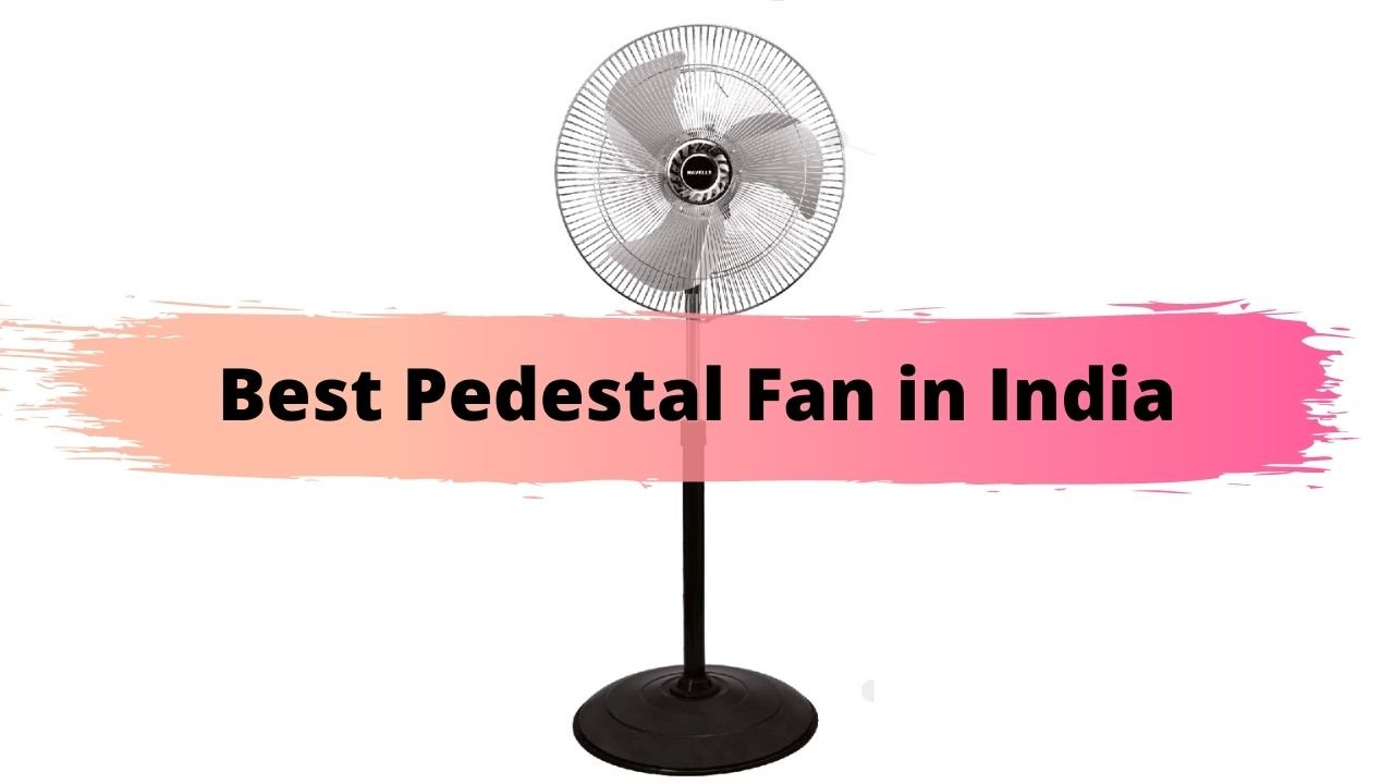 Best Pedestal Fan in India