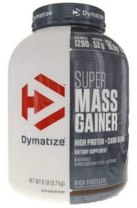 Dymatize Super Mass Gainer Protein Supplement with Digestive Enzyme