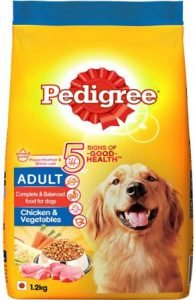 Pedigree Adult Dry Dog Food, Chicken, and Vegetables