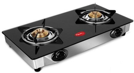Pigeon by Stovekraft Favorite Glass Top 2 Burner Gas Stove