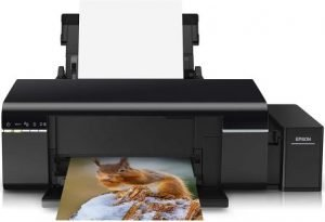 Epson L805 Single-Function Wireless Ink Tank Color Photo Printer