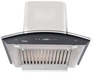 Hindware 60cm 1200 m3hr Auto Clean Chimney (Nevio 60, 1 Baffle Filter)