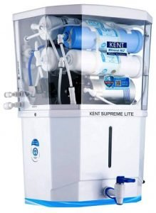 KENT Supreme Lite 2020 (11110) Wall-Mountable RO+UF+TDS Control Water Purifier