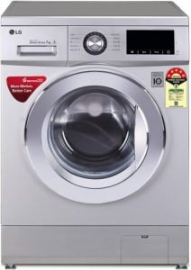 LG 7.0 Kg 5 Star Inverter Fully-Automatic Front Loading Washing Machine (FHM1207ZDL)