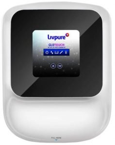Livpure Glo Touch 8.5L Water Purifier with RO + UV + UF + Taste Enhancer