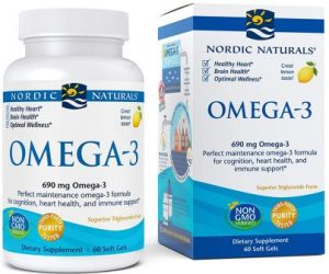 Nordic Naturals Omega-3 Purified Fish Oil