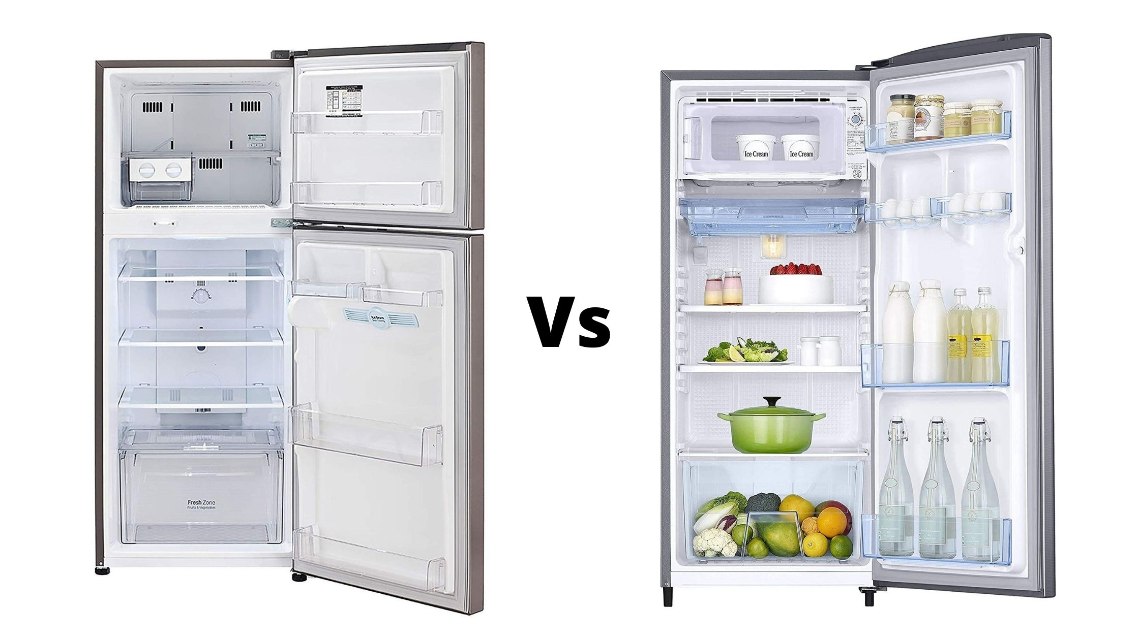 DIRECT COOL VS FROST FREE REFRIGERATOR