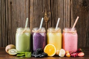 Pre-made smoothies