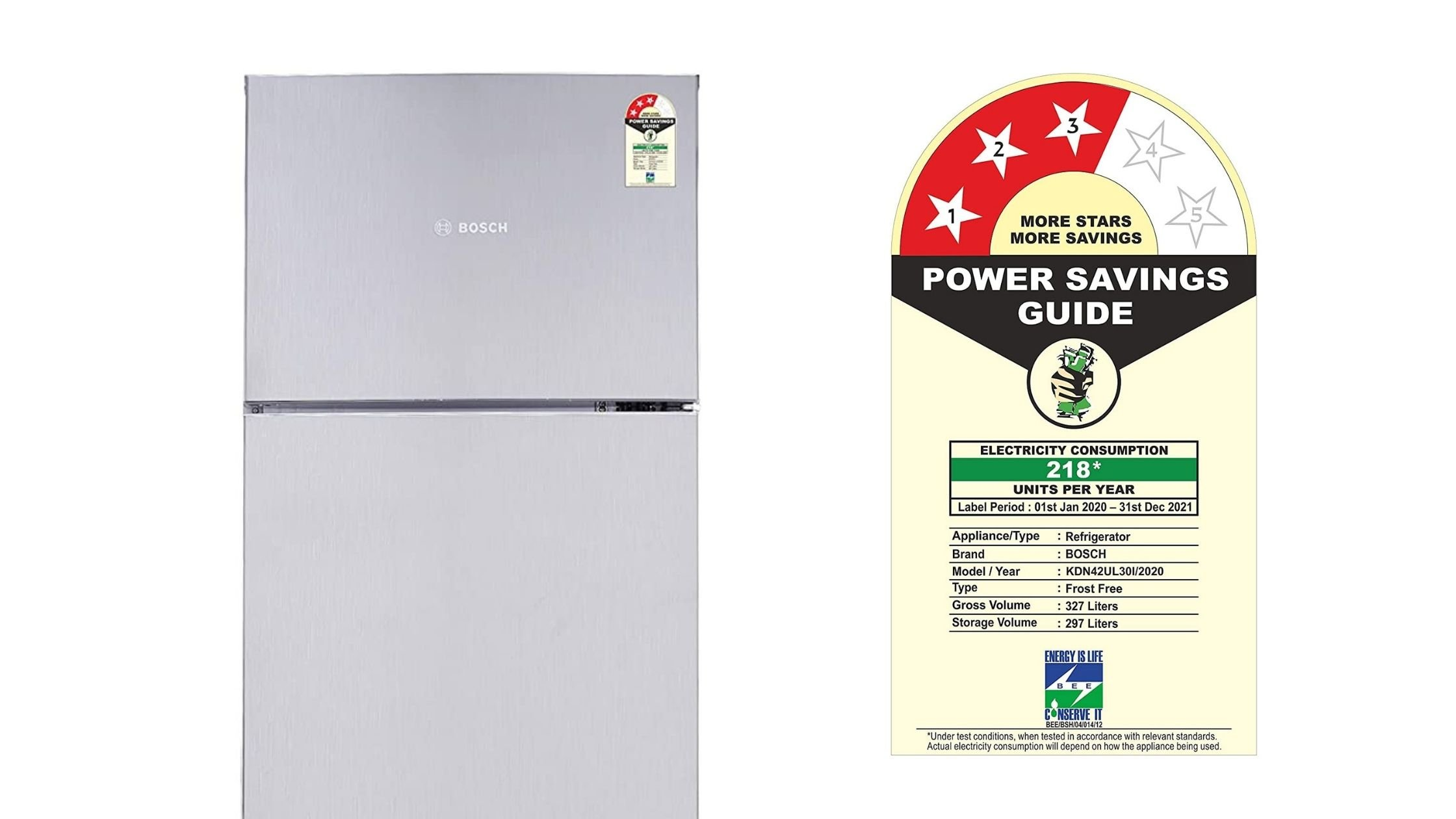 What is Star Rating in Refrigerator in India