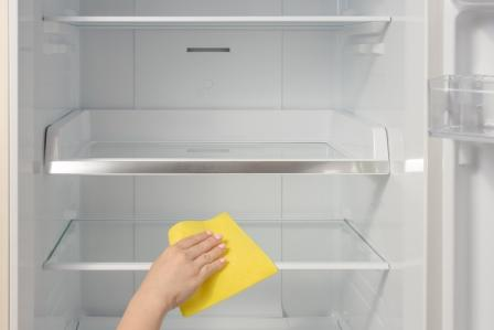 How to Clean Shelves and Removable Drawer
